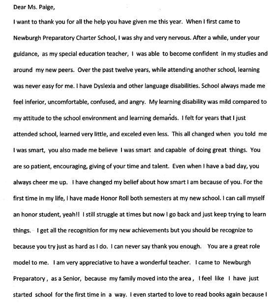 My favourite teacher essay