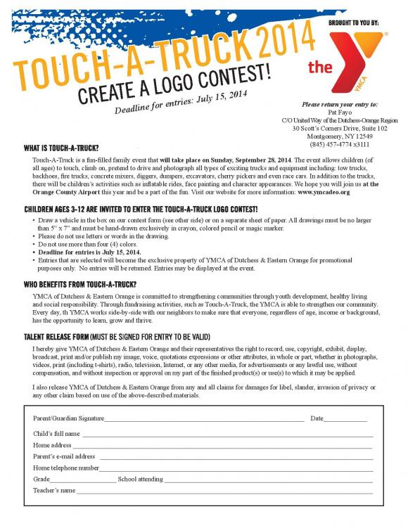 Touch a Truck Logo Design Contest (Enter by July 15th) | Happy ...